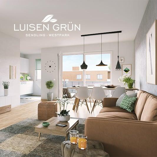 EAZEE Immobilienmarketing Terrafinanz Luisengruen Innenillustration