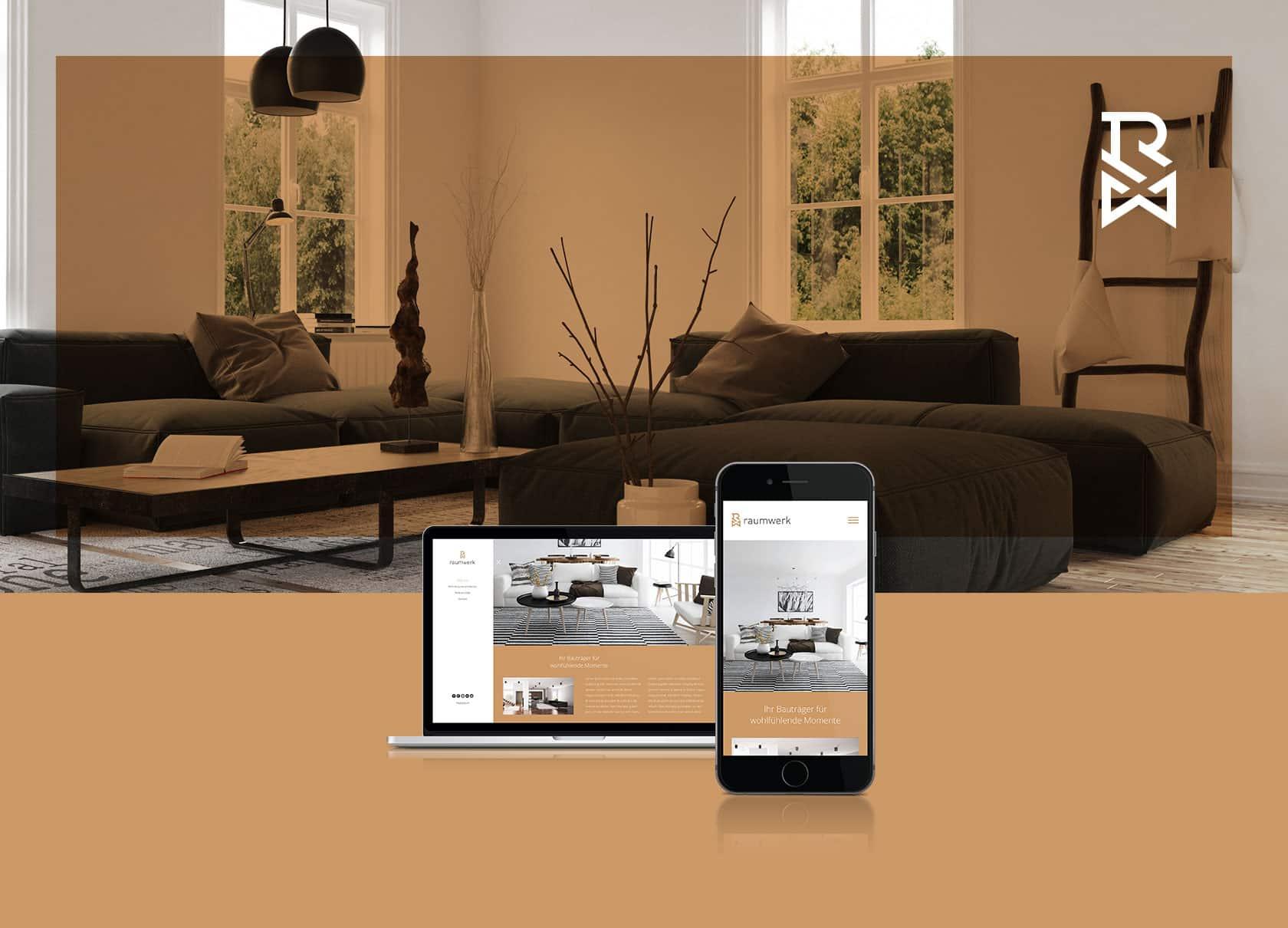 EAZEE Webdesign Muenchen Raumwerk Responsive Design Ansicht