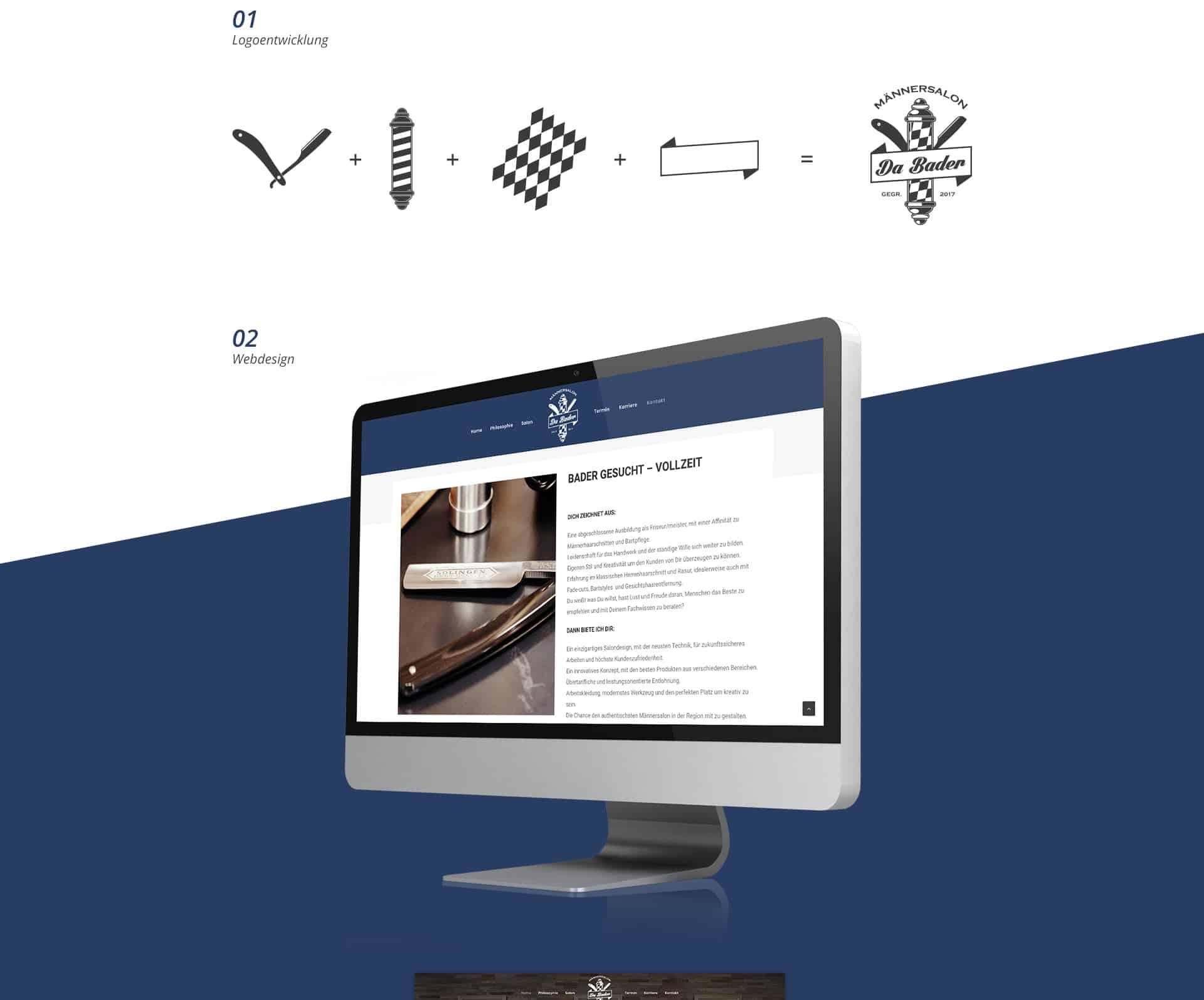 EAZEE Kreativagentur Meunchen Da Bader Logoentwicklung Prozess