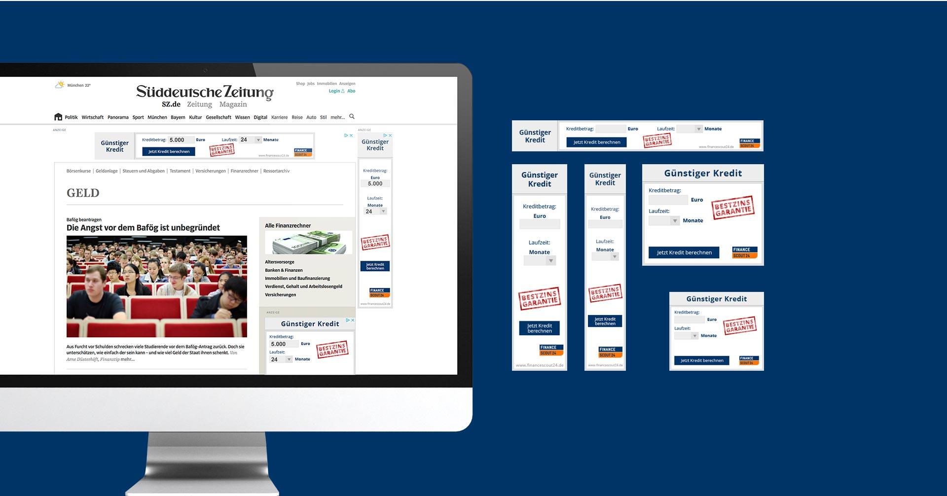 EAZEE Agentur fuer Onlinemarketing Beispiel Display Banner