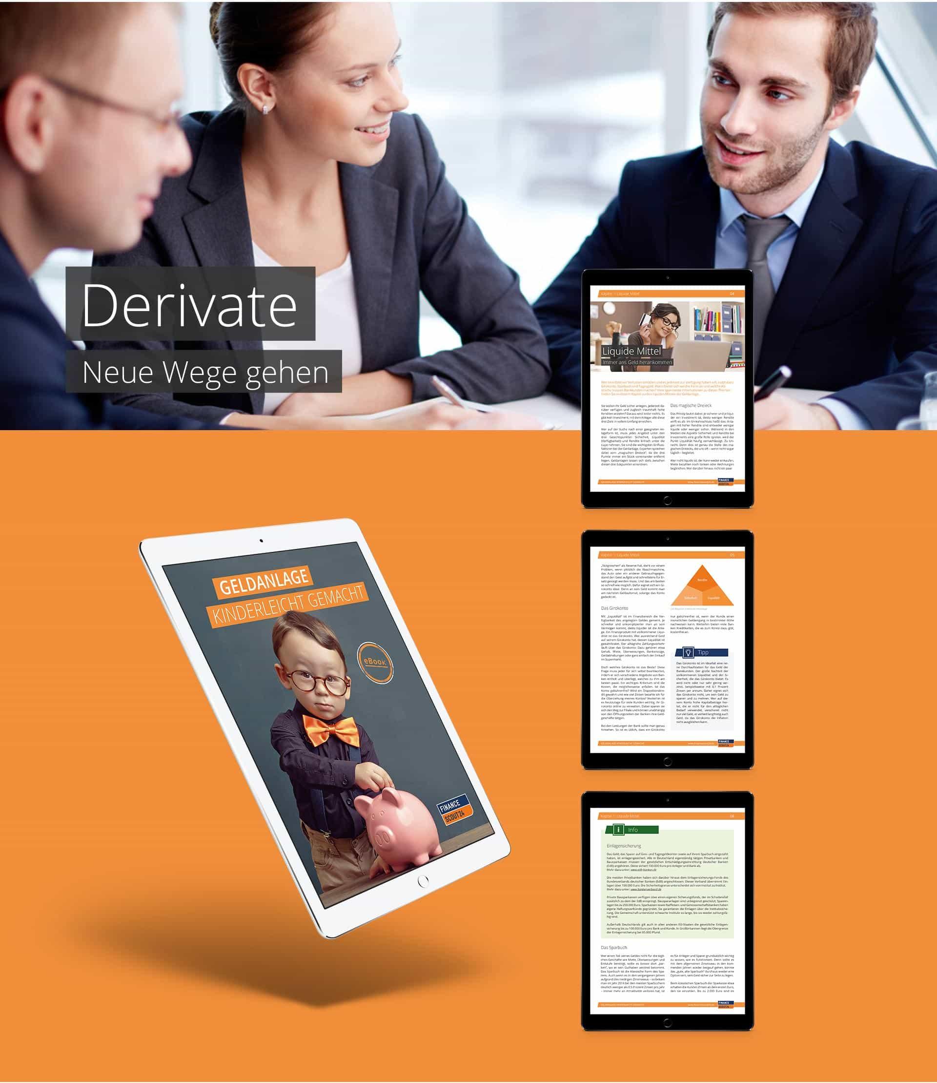 EAZEE Agentur fuer Onlinemarketing Referenz Financescout 24 E-Book